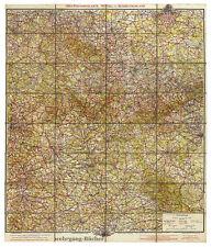 Kremling: Jro-Straßenkarte Mittel- u. Süddeutschland um 1932