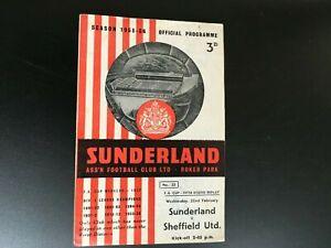 SUNDERLAND-V-SHEFFIELD-UNITED-FA-CUP-1955-6