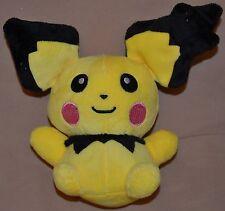 """7.5"""" Pichu # 172 Pokemon Plush Dolls Toys Stuffed Animals Version 2 Baby Pikachu"""