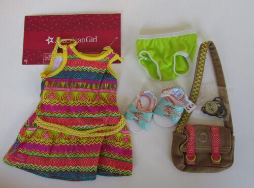 NIP American Girl Lea/'s Tropical Adventure Meet Outfit