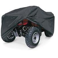 Black Atv Quad 4 Wheeler Storage Cover Waterproof For Kawasaki Brute Force 750