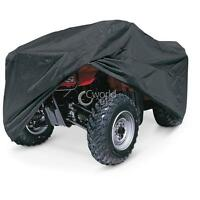 Black Atv Quad 4 Wheeler Storage Cover Waterproof For Kawasaki Brute Force 750