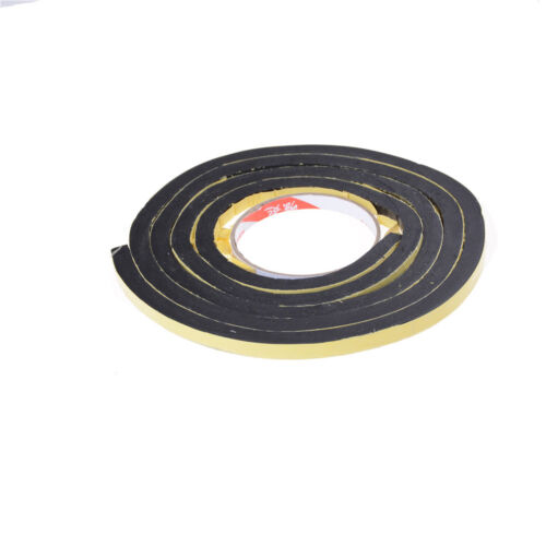 Self Adhesive Foam Sealing Tape Strip Sticky EPDM Sponge Rubber Thick  2017 M/&R