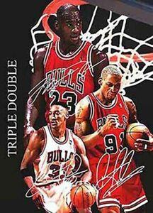 Michael-Jordan-Scottie-Pippen-Dennis-Rodman-Signed-Autograph-GREATEST-A4-Poster
