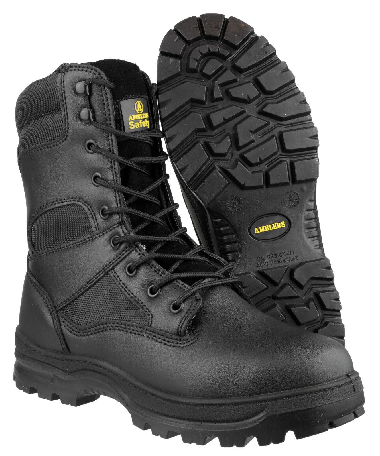 Amblers fs008 Acciaio da Uomo Sicurezza Punta Acciaio fs008 Scarpe Stivali industriale uk4-14 55acee