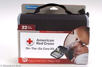 Red Cross On The Go Baby Care Kit 32 Piece Health Set W/ Case W/tags 4768