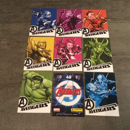 AVENGERS Marvel 2019 Lot de 10 Images Stickers Panini au choix!