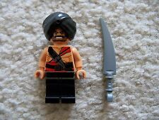 LEGO Indiana Jones Minifig - Rare Mola Ram Temple Guard 2 w/ Weapon - From 7199