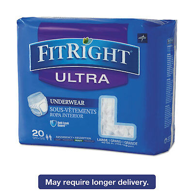 """Hospitable Medline Fitright Ultra Protective Underwear Large 40-56"""" Waist 20/pack Fit23505a Do You Want To Buy Some Chinese Native Produce? Baby"""