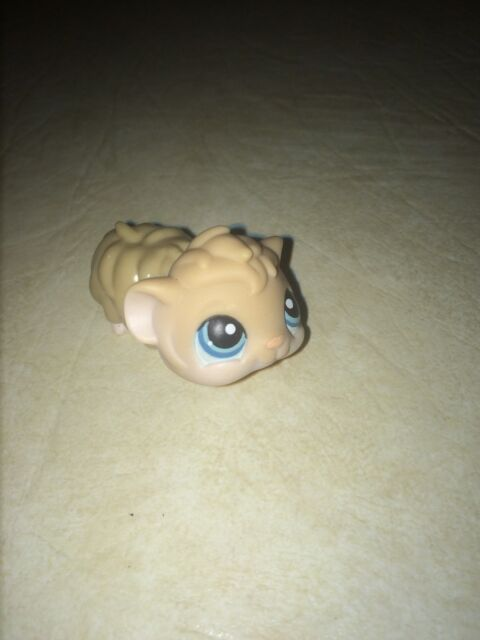 Hasbro Littlest Pet Shop Hamster Brown Tan Fur (1)$