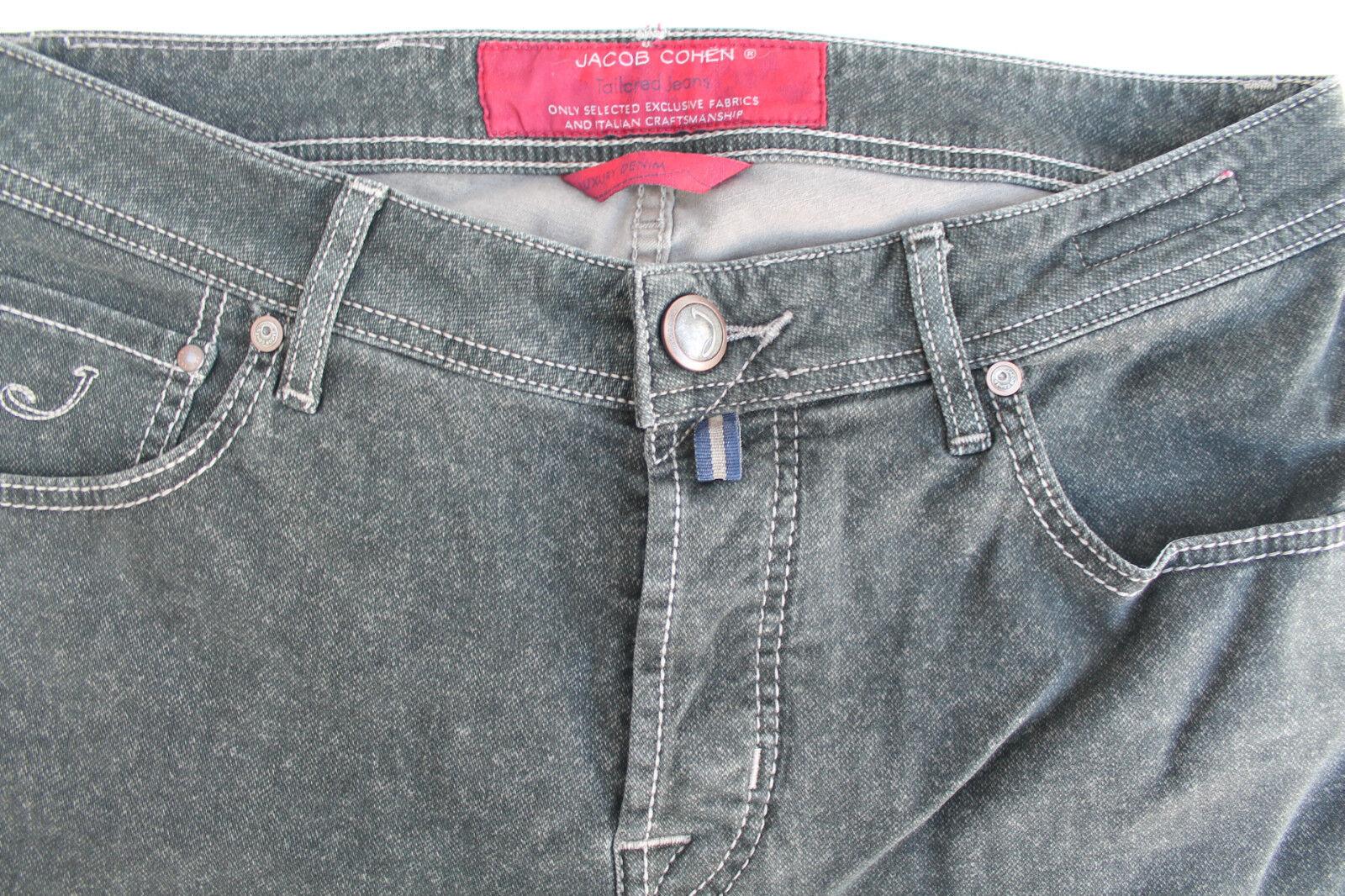 Herrenhosen Jacob Cohen J622 Komfort Komfort Komfort vintage Grünfink (67A) 5bc144