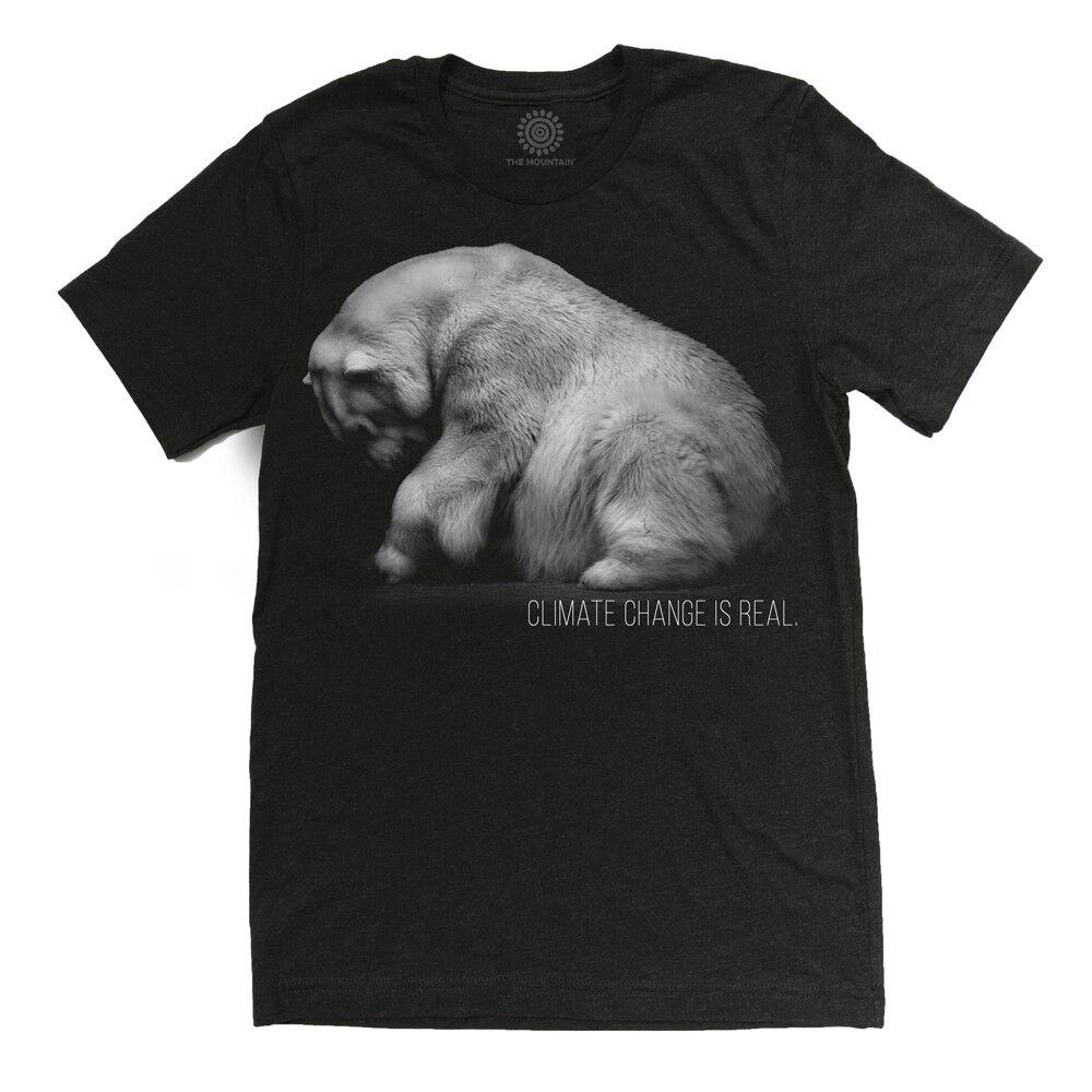 The Mountain Adult Polar Bear Global Warming TriBlend TShirt