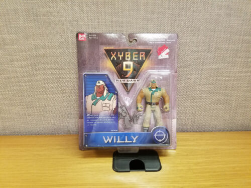 Brand New! Bandai Xyber 9 New Dawn Willy action figure