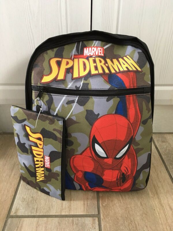 Spiderman Backpack with Pencil Case