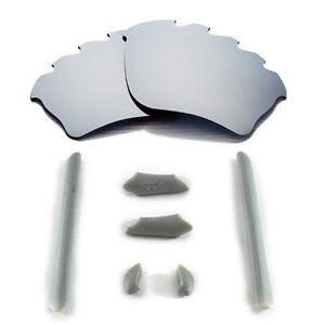 Wl Polarized Titanium Vented Lenses And Rubber Kit For