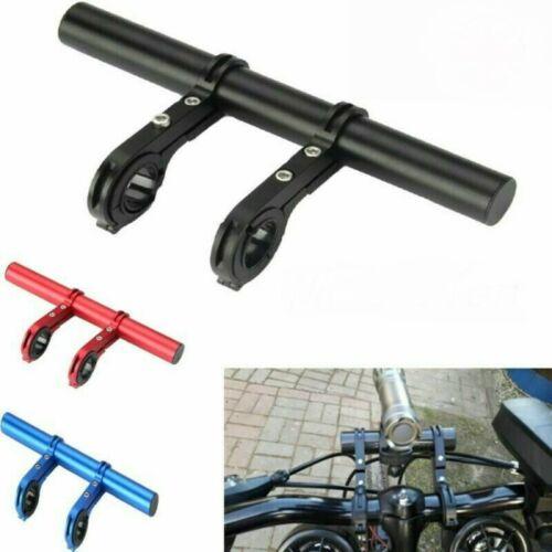Bicycle Handlebar Extension Mount Bike Handle Bar Alloy Bracket Extender Holder