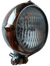Custom Headlight Harley Bobber Chopper Aluminum xs650 Sportster Panhead Vintage