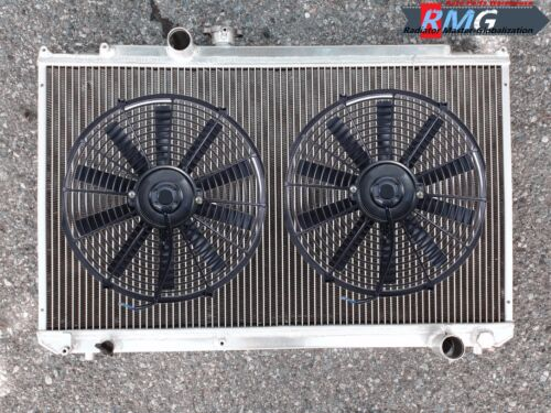 Chaser 1997 1998 1999 Fans Aluminum Radiator For 1996-2001 Toyota Mark II
