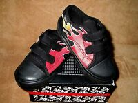 Vans Big School Flame Shoe Blk/red Toddler 5, 5.5, 6, 6.5, 8.5