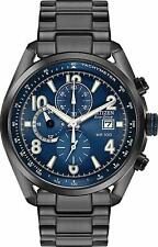 Citizen Eco-Drive Men's Chronograph Blue Multi Dial 43mm Watch CA0365-54L