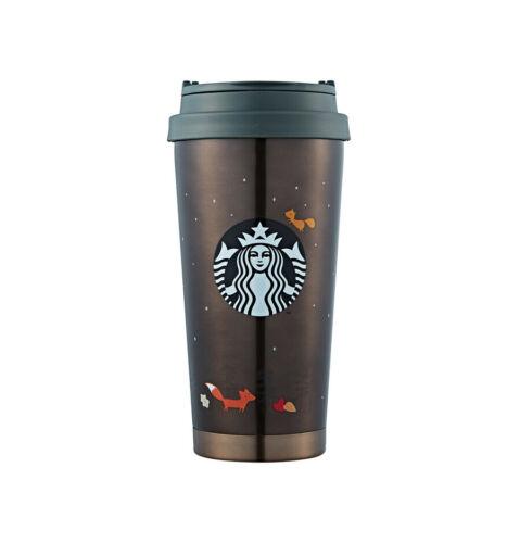 Starbucks Korea 2019 Autumn Limited SS Elma Maple Tumbler 473ml+Tracking