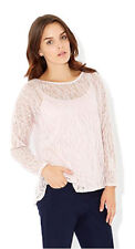 MONSOON Kali Pink Knit Jumper with Cami Top BNWT