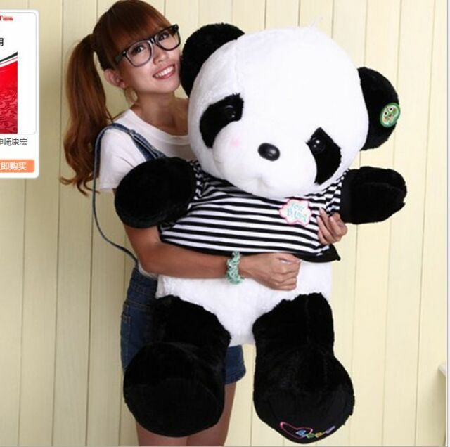 Cute 32 Giant Big Panda Teddy Bear Plush Doll Toy Stuffed Animal