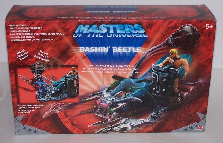 Master Of The Universe He-Man Grab 'N Bashin Battle Vehicle NIB