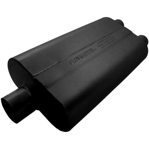 Flowmaster Universal 50 Delta Flow Muffler 2.00 Dual Out 2.50 Ctr In