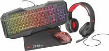 Artikelbild Trust GXT 788RW Gaming Bundle 4 in 1 DE Tastatur, Maus, Headset und Mauspad