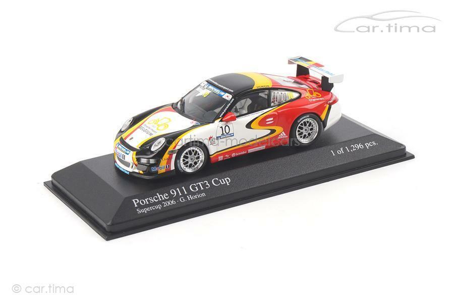 Porsche 911 gt3 Cup-súpercup 2006-horion-Minichamps 1 43 - 400066410