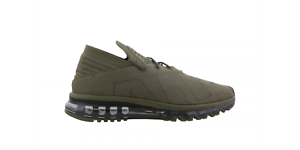 Mens NIKE AIR MAX FLAIR Medium Olive Trainers 942236 200