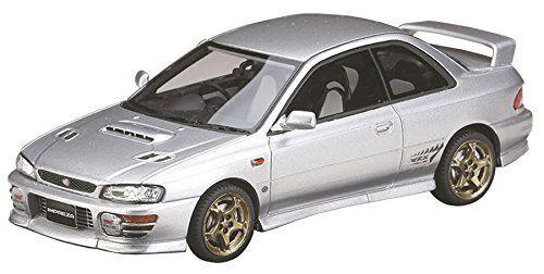 Mark 43 1 43 Subaru Impreza Wrx Sti Type R Ver.1997 (GC8) Modelo de Resina de argento