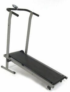 stamina pro fitness folding manual treadmill trainer run exercise rh ebay com Folding Manual Treadmill with Incline Merit 725T Treadmill Manual