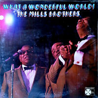 Mills Brothers - What A Wonderful World - Paramount Lp - Still Sealed