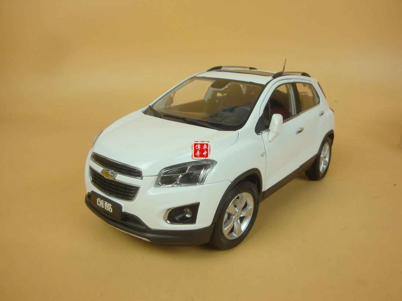 1 18 Chevrolet TRAX SUV white white white color + gift 7e34c5
