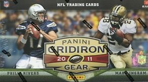 2011 Panini Gridiron Gear Football Hobby Box - Factory Sealed!