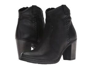 253eb1bf71a4 Image is loading NEW-Miz-Mooz-Rico-Ankle-Bootie-Black-Leather-