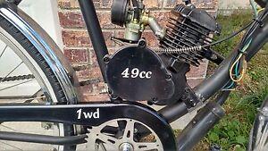 Motorized Bicycle Custom Vinyl Decal Sticker Cc Two Stroke - Custom vinyl decals bicycle