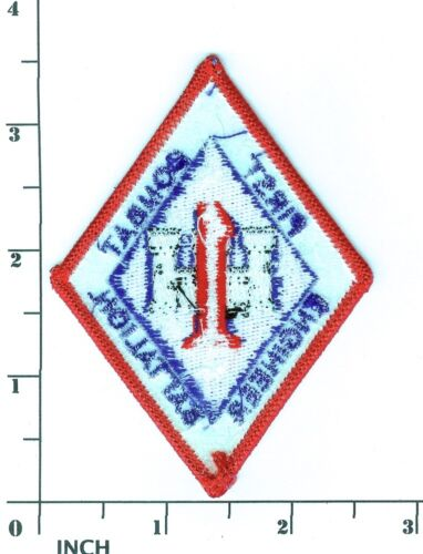 USMC 1st Combat Engineer Battalion color PATCH OIF 1st Eng Bn Marines 1st CEB