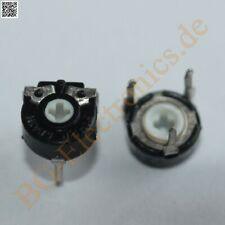 10 x Trimmer 1 KΩ LIN liegend Piher Trimmer kOhm Widerstand PIHER  10pcs