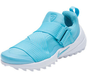 765c60f5 Details about Nike Womens Air Zoom Gimme Spikeless Golf Shoes - Vivid Sky  Blue/White - NIB
