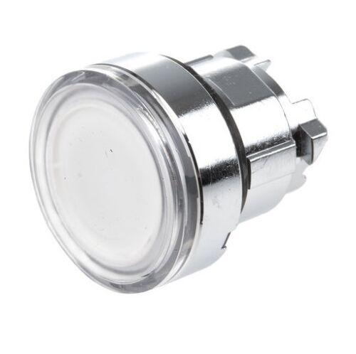 Schneider ZB4BW313 Series White Push Button Head Spring Return 22mm Cutout