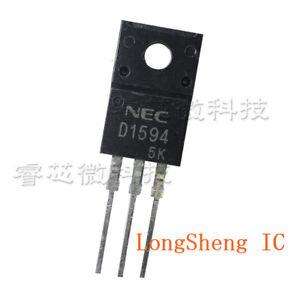 5-pcs-2SD1594-TO220F-Silicon-negatif-Positif-Negatif-transistors-de-puissance