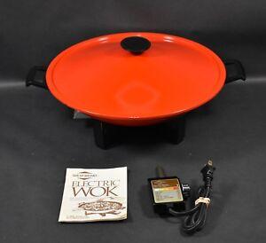 west bend electric wok manual