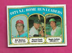 1972-TOPPS-90-REGGIE-JACKSON-HOME-RUN-LDR-EX-MT-CARD-INV-A8823