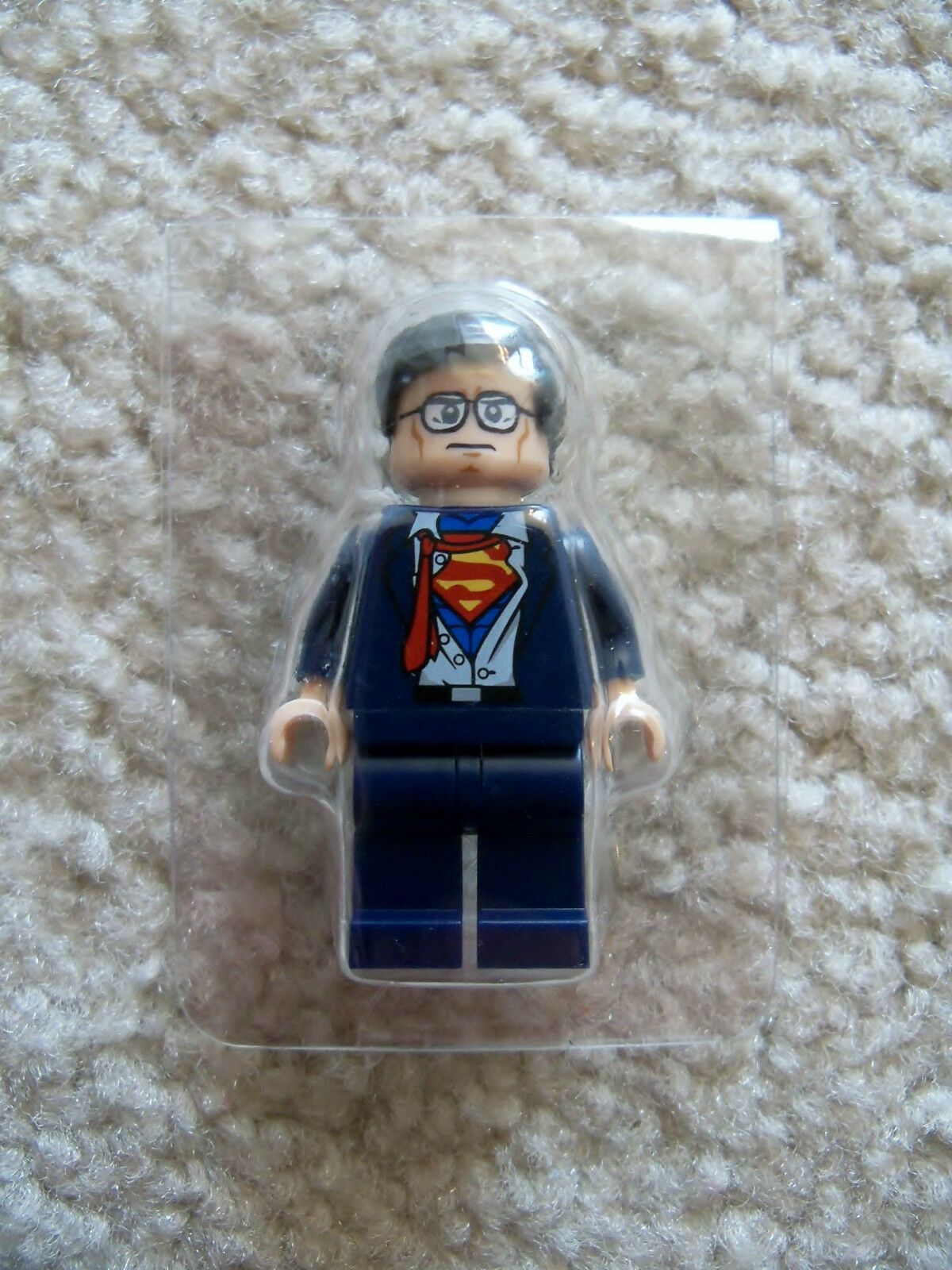 LEGO Superheroes Superman - Rare - Original - Clark Kent Minifig - New