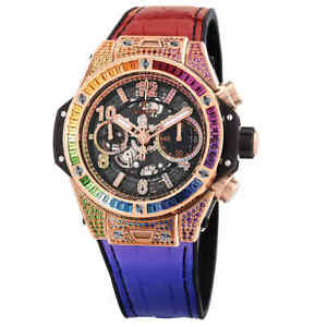 Hublot Big Bang Unico King Gold Rainbow Automatic Men's Watch