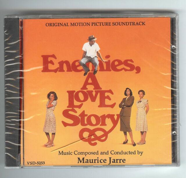 CD Maurice Jarre ENEMIES, A LOVE STORY Soundtrack Varèse Sarabande 1989