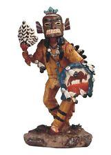 "8"" Native Indian Statue Figure Figurine Warrior Indio American North Decor Mask"